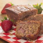 strawberry bread photo