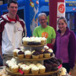 JennyCakes at the Walter Johnson HS Winter Carnival in support of The Leukemia and Lymphoma Society.