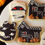 Some of our fancier Halloween cookies