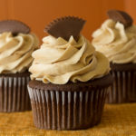 choc cupcake w whipped PB frost - low res-0075