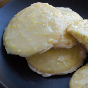 Chilled lemon ricotta cookies